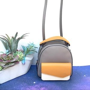 ⬇️ $120 | Botkier Truffle ColorBlock Hill Backpack